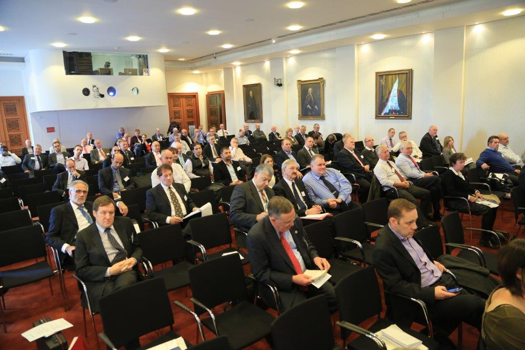 Audience at Surveillance Camera Commissioner's conference