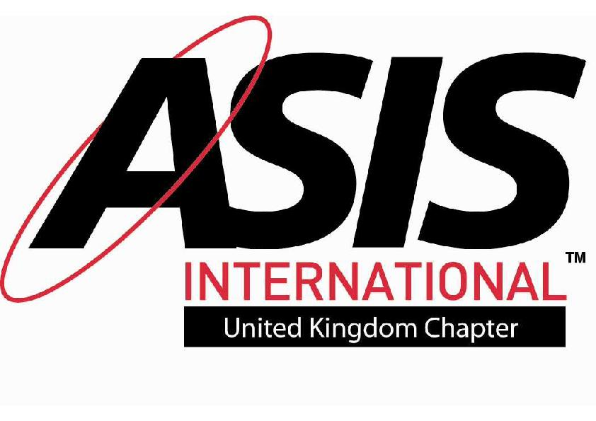 ASIS International United Kingdom chapter 208 logo