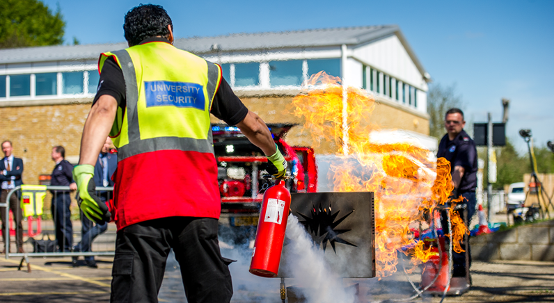 Securitas announces an on site fire training service