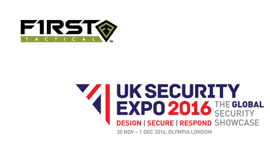 First Tactical to exhibit at the UK Security Expo 2016