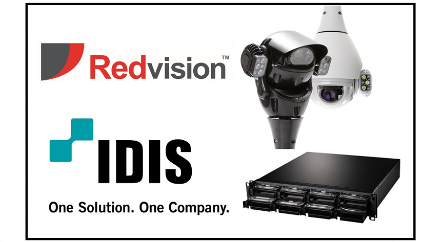 Redvision announces SDK integration with IDIS DirectIP™ NVRs and VMS