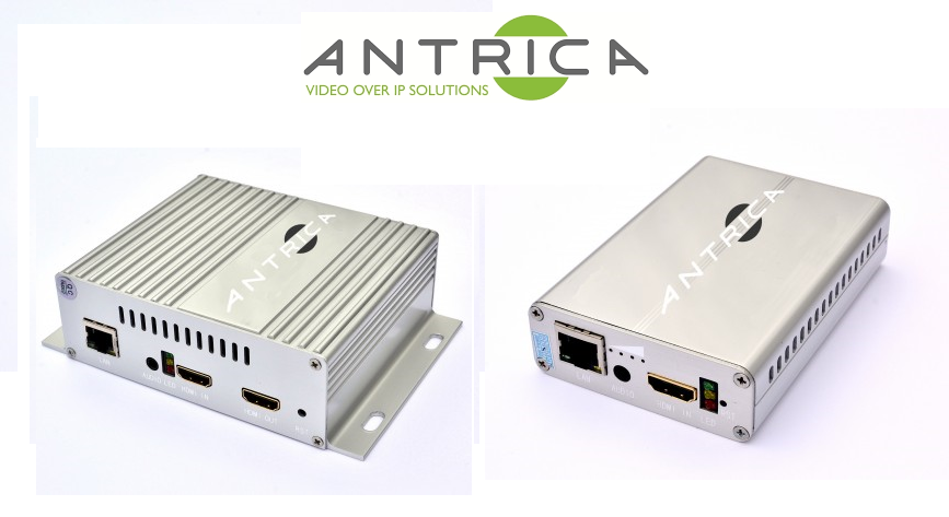 Antrica launches new HDMI H.265 battery and USB-powered streaming video encoders
