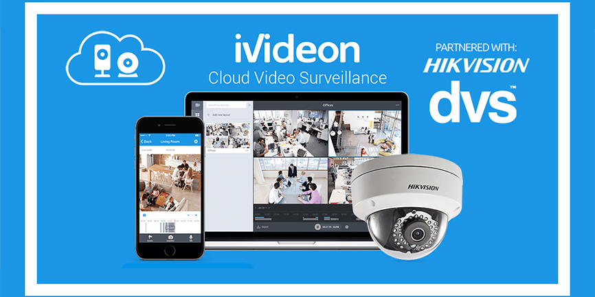 DVS are pleased to announce their new working partnership with Ivideon